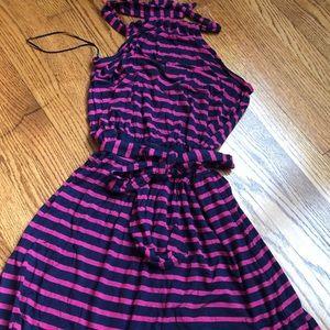 Nordstrom halter dress, Caslon brand